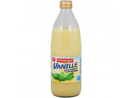Milchmischgetränk Vanillegeschmack, mit Zucker und Süßungsmitteln