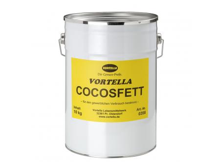 Cocosfett, ungehärtet
