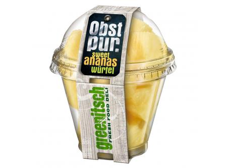 Ananaswürfel