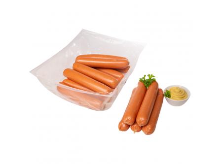 Ossi-Bockwurst, Bockwurst im Schäldarm