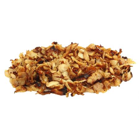 Hähnchen-Döner-Kebab, gegrillt, vom Spieß geschnitten