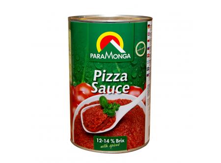 Pizza-Sauce gewürzt
