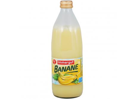 Milchmischgetränk Banane, mit Zucker und Süßungsmitteln