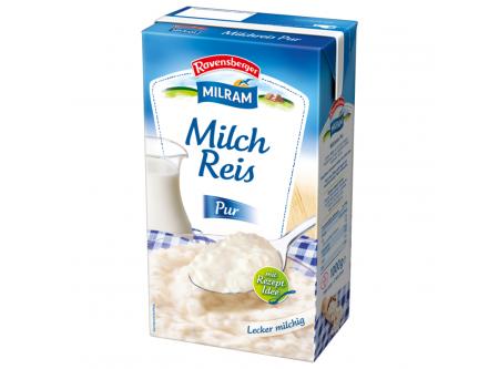 Milchreis pur