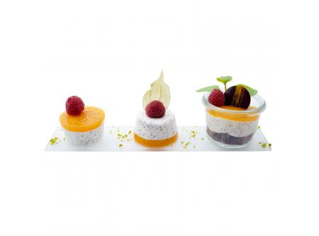 Chia Vanillepudding mit Marillenfruchtmark