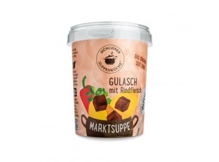 Marktsuppe Gulasch mit Rindfleisch