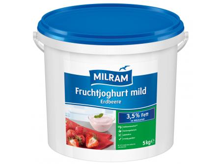 Joghurt mild mit 7,5 % Erdbeeren 3,5 % Fett im Milchanteil
