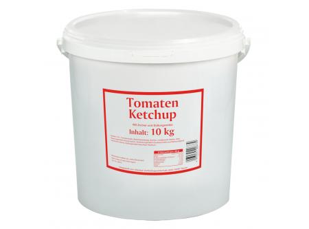 Tomaten Ketchup mit Zucker und Süßungsmittel