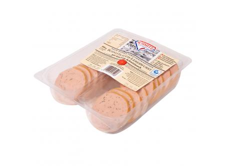 Schnittlauch-Leberwurst mit frischem Schnittlauch