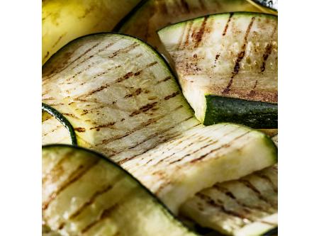 Zucchinischeiben, gegrillt