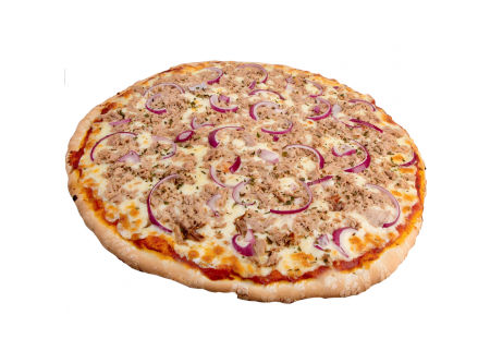 Pizza Thunfisch Zwiebel