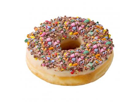 Colour Dots Donut