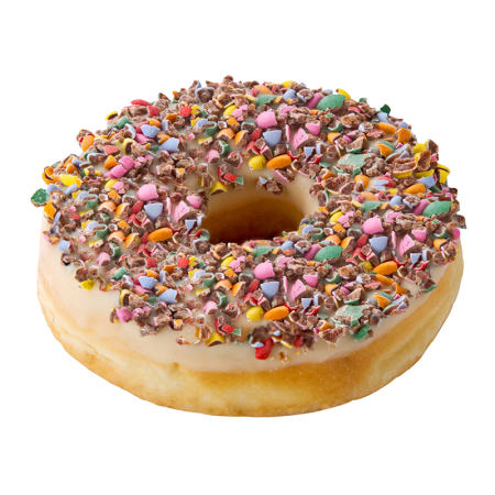 Colour Dots Donut