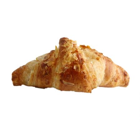 Marzipan Croissant gerade vorgegärt