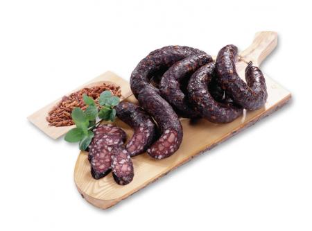 Schinken-Peperoni-Schwarzwurst