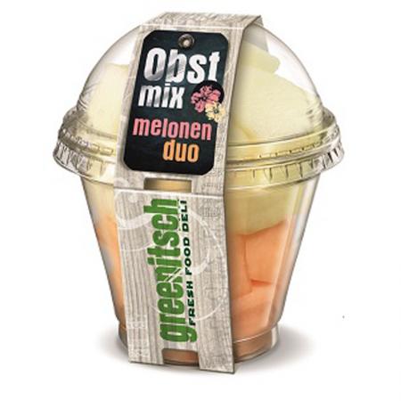 Melonen Duo Honig- und Cantaloupe Melone