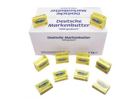 Deutsche Markenbutter Portionen
