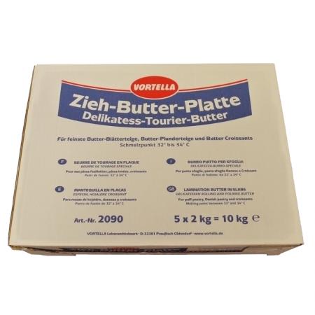 Zieh-Butter-Platte Delikatess Tourier-Butter