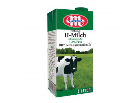 H-Milch, 1,5 % Fett, fettarm