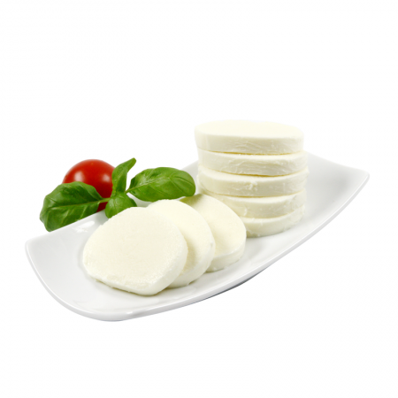 Soft-Mozzarella in Lake 45 % Fett i.Tr.