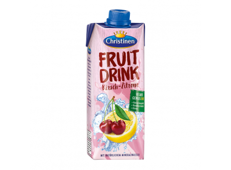 Quick Drink Kirsch Zitrone Erfrischungsgetränk, mit Zucker und Süßungsmittel