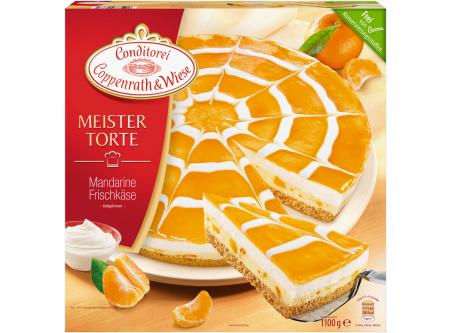 Mandarinen Frischkäse Torte