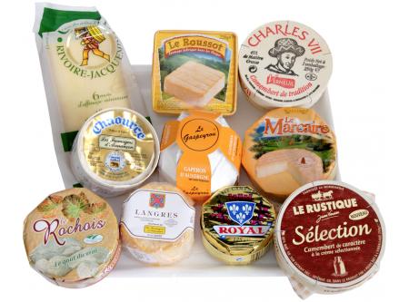 Französisches Käse Plateau