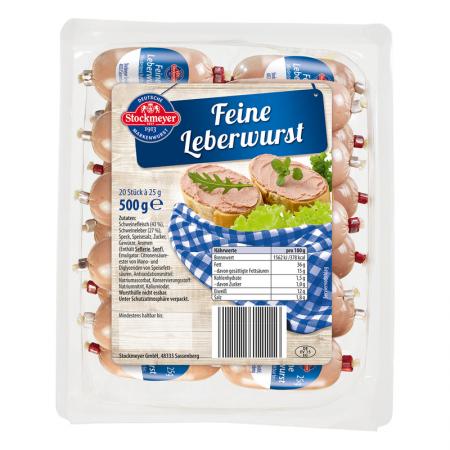 Leberwurst, fein