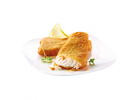 MSC Backfisch Filets aus Alaska Seelachsfilet, in würzigem Backteig, vorgebraten