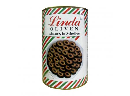 Oliven,geschwärzt, in Scheiben, in Aufguss