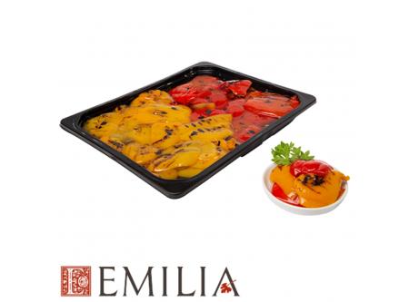 Paprikafilets rot und gelb vom Grill