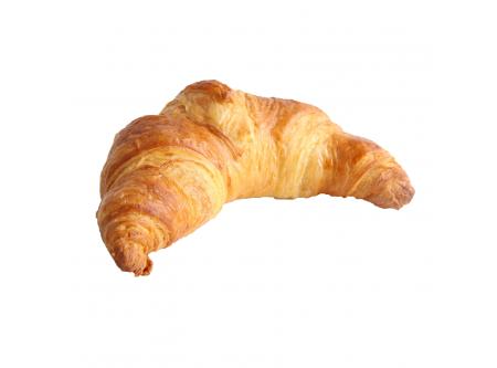 Buttercroissant französische Art mit Butter, vorgegärt