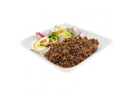 Rinderhackfleisch Taco-Beef, gebraten