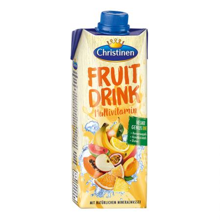 Quick Drink Multivitamin Mehrfruchtgetränk, mit Zucker und Süßungsmittel