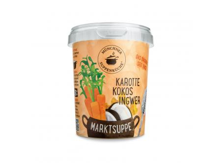 Marktsuppe Karotte Kokos Ingwer