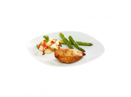 Chicken Breast Fillet Hähnchenbrustfilets mariniert, gegart und vorgebräunt