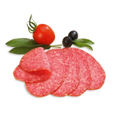 Salami oval, geräuchert
