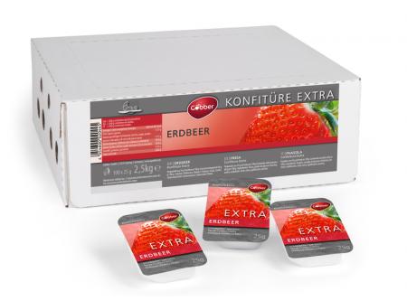 Erdbeer-Konfitüre Extra