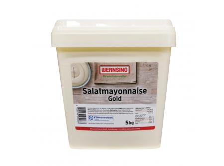 Salat Mayonnaise Gold, mit 50 % Pflanzenöl