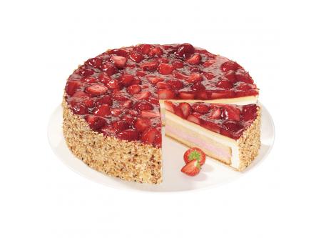 Erdbeer Buttermilch Torte