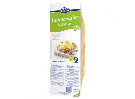 Emmentaler in Scheiben 45 % Fett i.Tr.