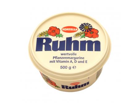 Ruhm, wertvolle Pflanzenmargarine