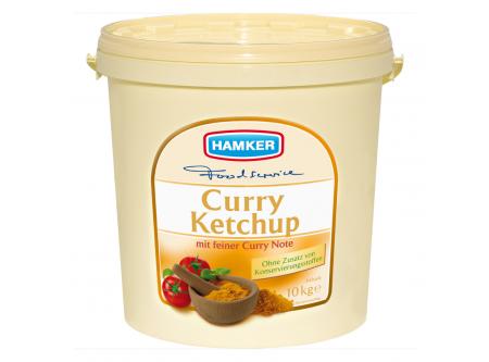 Curry Ketchup mit Zucker und Süßungsmittel